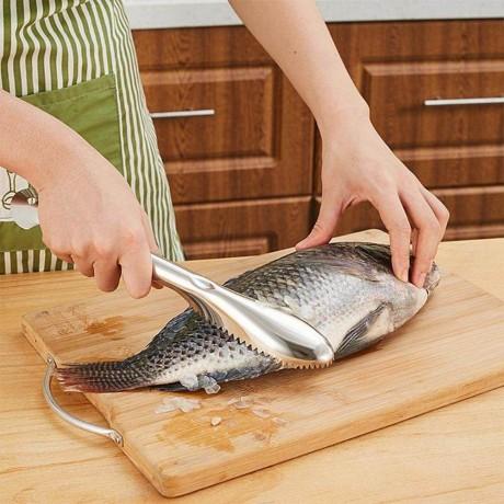 Метален нож за почистване на риба