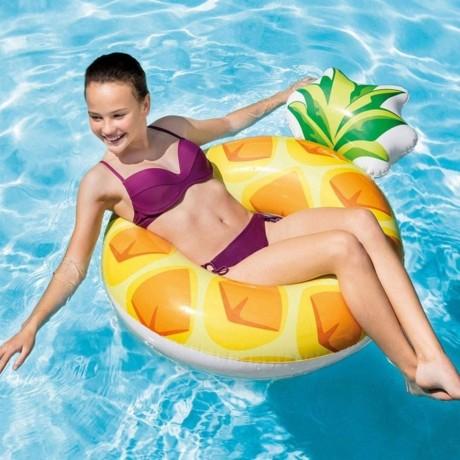 Intex голям надуваем пояс - ананас