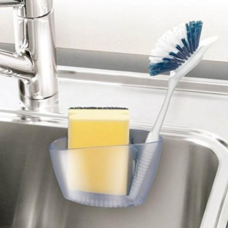 Поставка за кухненска гъба към мивка Tescoma от серия Clean Kit