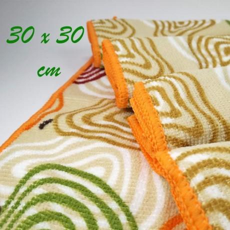 Микрофибърна кърпа 30х30 см
