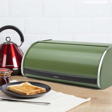 Зелена кутия за хляб с въртяща вратичка Brabantia