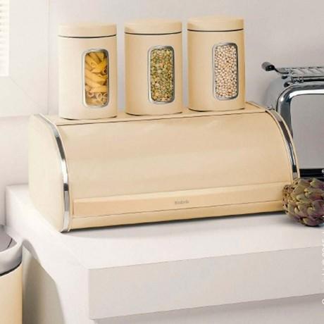 Бадемова кутия за хляб с въртяща вратичка Brabantia