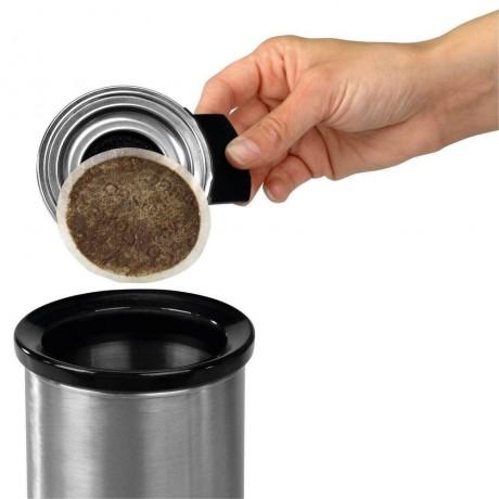 Кош за капсули от кафе Brabantia Matt Steel