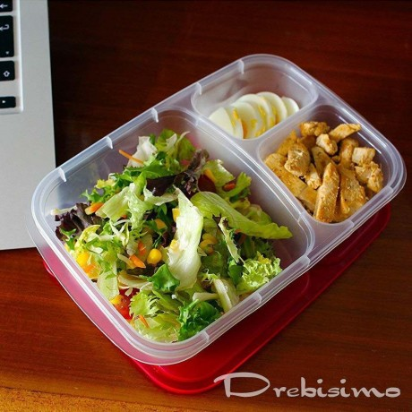 Кутия за храна с 3 отделения