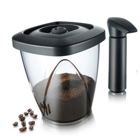 Купи 1,3 л. вакуумен контейнер за кафе с помпа за вакуум
