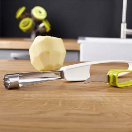 Прибор за пълно почистване на ябълки с ножче TOMORROW`S KITCHEN