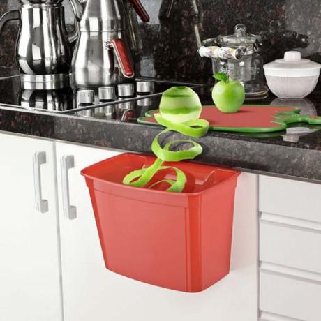 Голям кош за отпадъци за кухненски плот