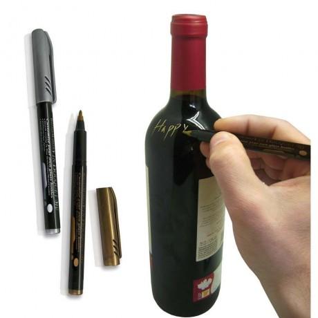 Маркери за надписване на бутилки GOLD AND SILVER - 2 бр. от Vin Bouquet