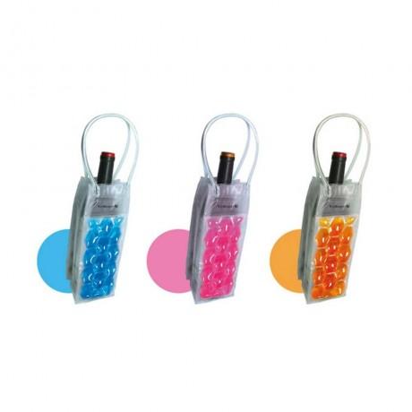 Охладител за бутилки чантичка - цветна от Vin Bouquet