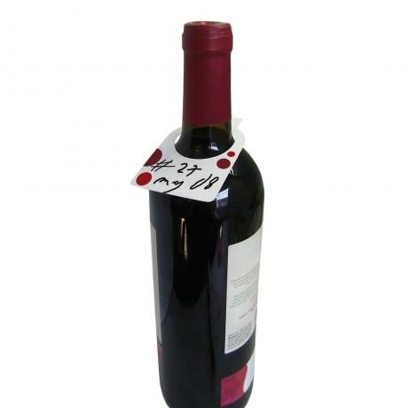 "Етикети за бутилки 2x12 "" RED AND WHITE "" + маркер от Vin Bouquet"