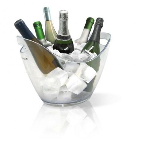 Прозрачен охладител за бутилки ICE BUCKET - за 6 бутилки от Vin Bouquet
