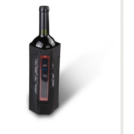 Охладител за бутилки с подвижен лентов термометър от Vin Bouquet