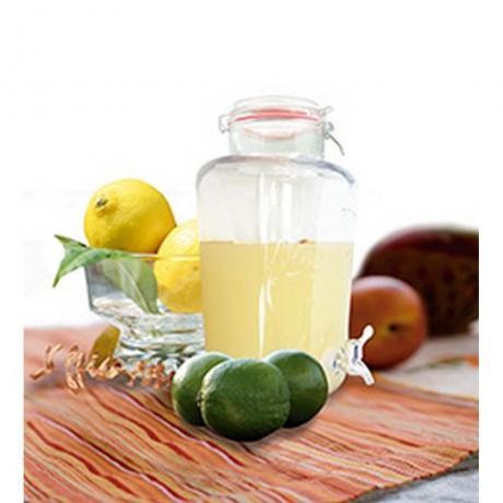 8л. стъклен буркан - диспенсър за течности с кранче от Vin Bouquet