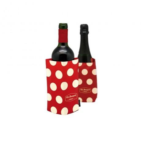 Охладител за бутилки червен - VINTAGE от Vin Bouquet