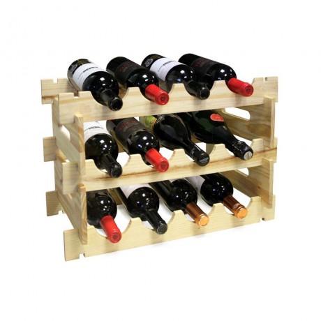 Сглобяема стойка за 12 бутилки от Vin Bouquet