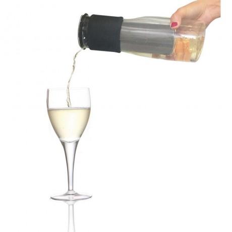 Стъклена гарафа за течности с охладител 750 мл. от Vin Bouquet