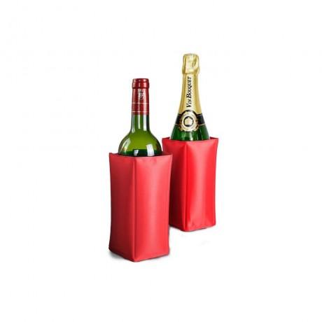 Охладител за бутилки - червен от Vin Bouquet