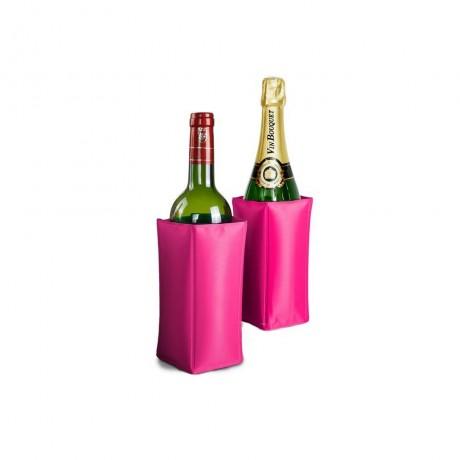Охладител за бутилки - розов от Vin Bouquet