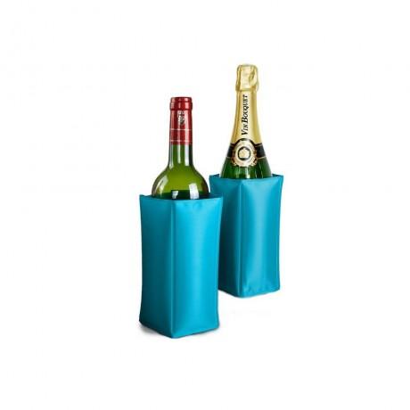 Охладител за бутилки - син от Vin Bouquet