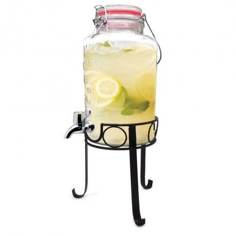 3л. диспенсър за течности с кранче и стойка от Vin Bouquet