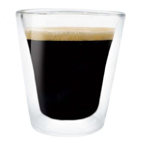 Купи Комплект от 2 бр. двустенни стъклени чаши - 100 мл. от Vin