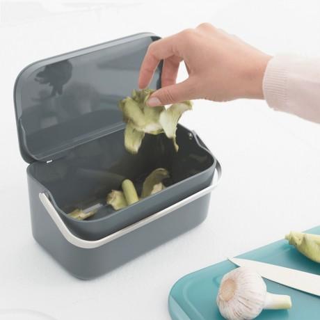 Кутия за хранителни отпадъци, Brabantia, Dark Grey