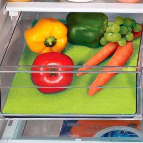 Зелена подложка против мухъл за хладилник