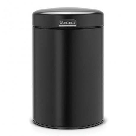 3 л. цвят матирано черно кофа за смет за стена Newicon Brabantia