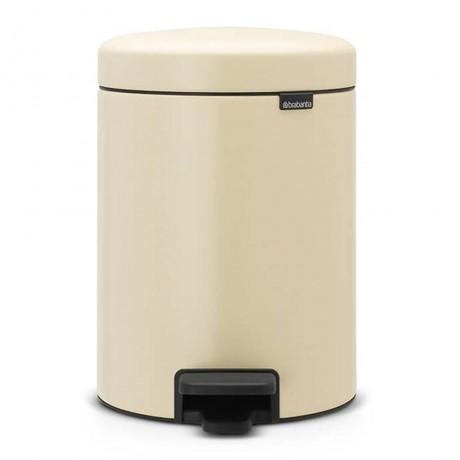 5 л. цвят бадем кофа за боклук с педал Brabantia NewIcon