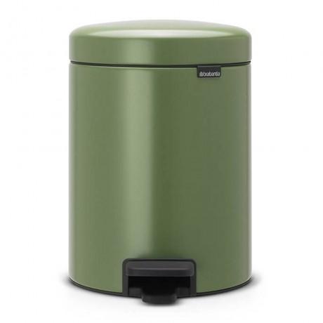 5 л. цвят зелен мъх кофа за боклук с педал Brabantia NewIcon