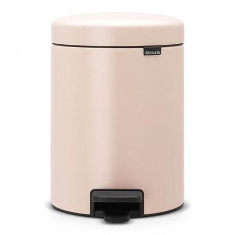 5 л. пастелено розова кофа за боклук с педал Brabantia NewIcon