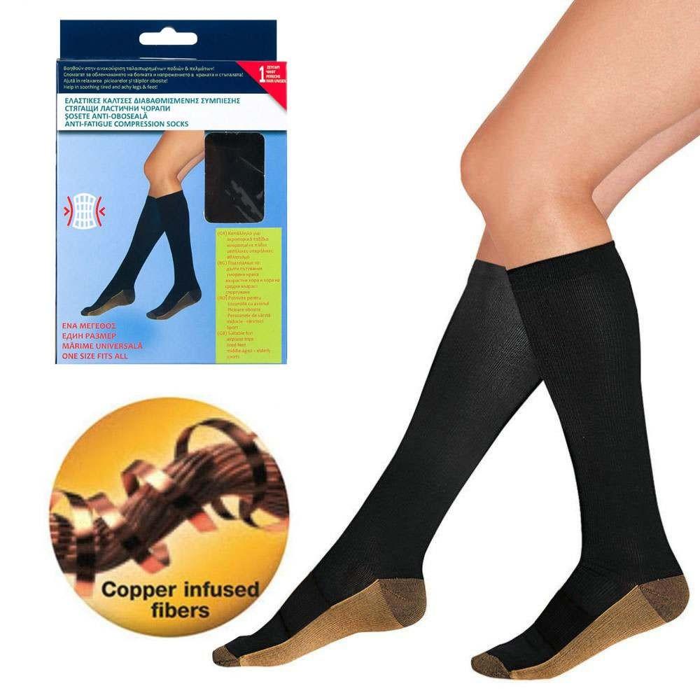 Чорапи за диабетици със сребърна нишка