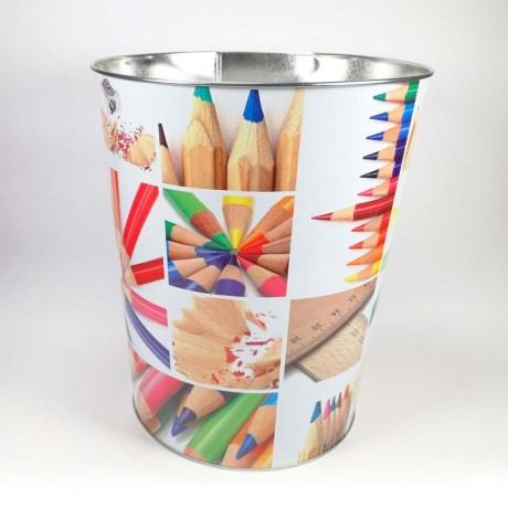 Метално кошче за отпадъци - Моливи