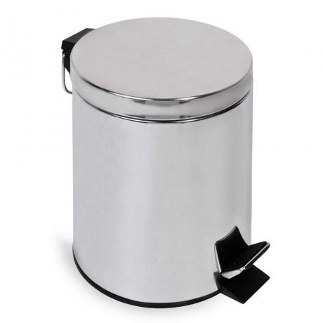5 л. инокс кошче за боклук с педал