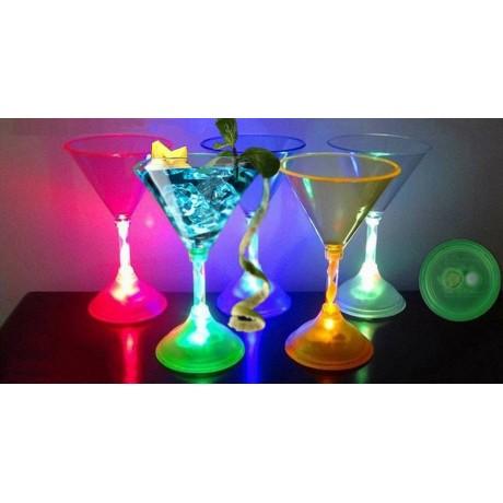 Чаша за шампанско с LED светлини