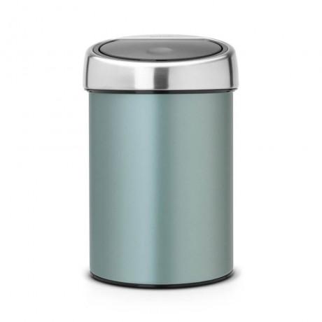 3 л. метал мента кошче за боклук Brabantia от серия Touch Bin