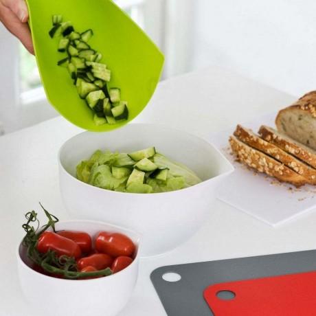 34 х 24 см. мека пластмасова дъска за приготвяне на храна
