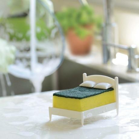 Поставка с гъба за кухненска мивка - легло