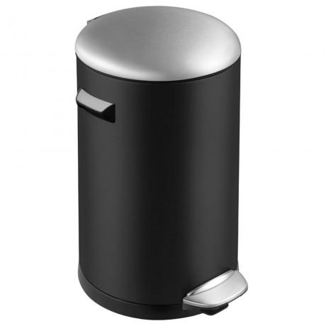 20 л. черен кош за отпадъци с педал ЕКО от серия BELLE DELUXE
