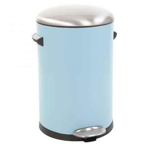 12 л. светло син кош за отпадъци с педал ЕКО от серия BELLE DELUXE