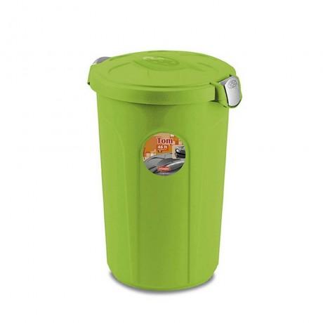 Купи 46 л. зелен универсален кош STEFANPLAST от серия Tom