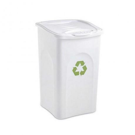 Купи 50 л. бял кош за отпадъци STEFANPLAST от серия Begreen