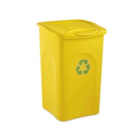 Купи 50 л. жълт кош за отпадъци STEFANPLAST от серия Begreen