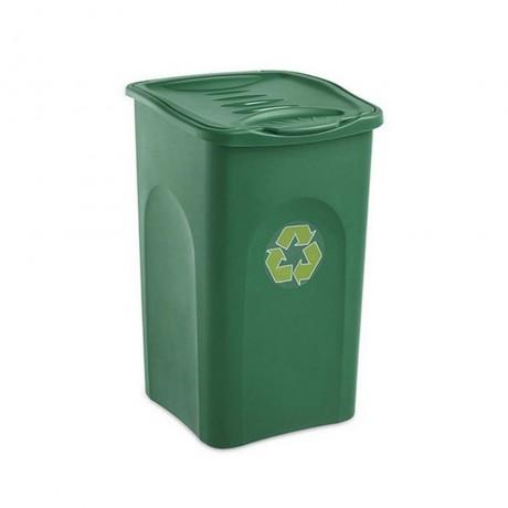 Купи 50 л. зелен кош за отпадъци STEFANPLAST от серия Begreen