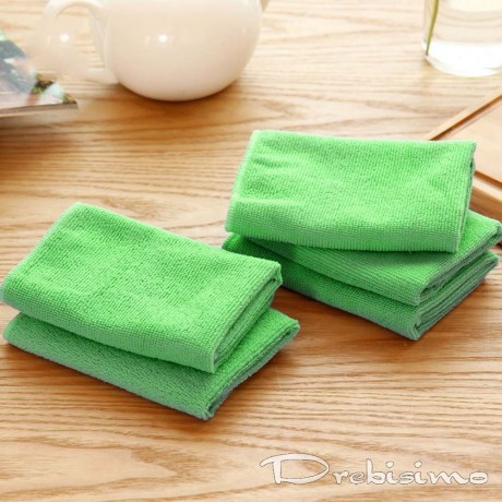 Микрофибърна кърпа специално за почистване на мивки, вани и фаянс