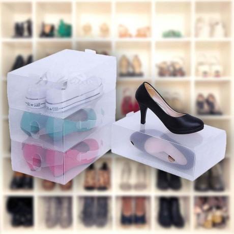 Сгъваема кутия за съхранение на дамски обувки