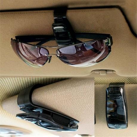 Клипс за закрепване на слънчеви очила на автомобилен сенник