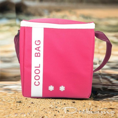 Термо чанта в цикламен цвят COOL BAG