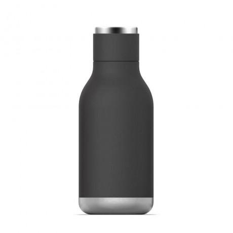 460 мл черна двустенна термо бутилка ASOBU от серия URBAN