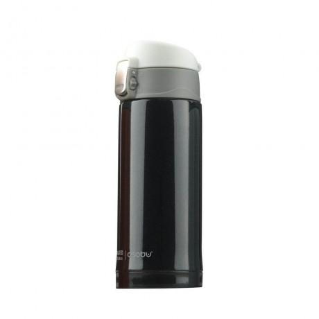 200 мл черен двустенен термос ASOBU от серия MINI DIVA